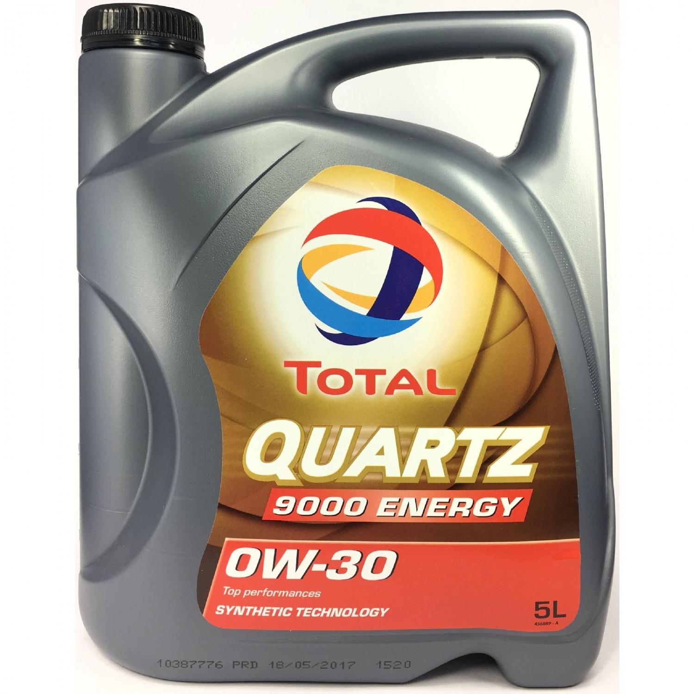 TOTAL QUARTZ 9000 ENERGY 0W-30 - 5L