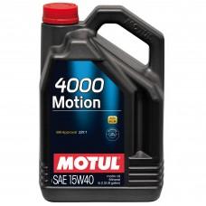 MOTUL 4000 MOTION 15W-40 - 5L