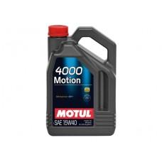 MOTUL 4000 MOTION 15W-40 - 4L