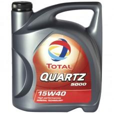 TOTAL QUARTZ 5000 15W-40 - 4L