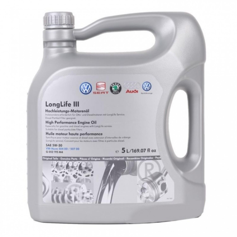 VAG LONGLIFE III 5W-30 - 5L